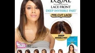 Freetress Equal Lace Front Deep Invisible Part Pre-Cut~ Nelly~OMFIRERED