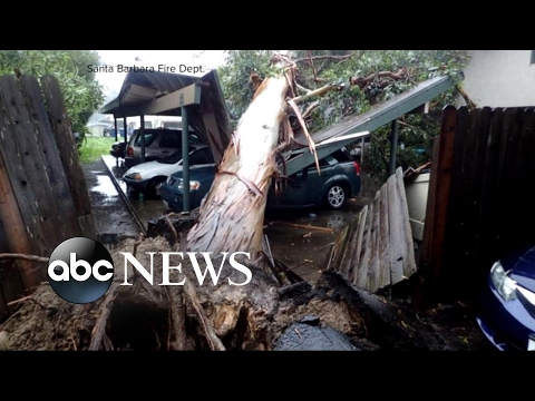 Deadliest storm in years slams Southern California