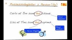 Possessivbegleiter im Französischen (Teil 2)
