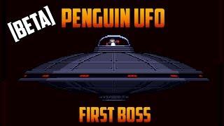 Starbound - Penguin UFO boss kill [Beta]