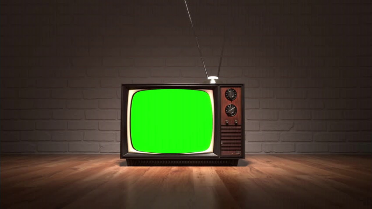 Green Screen Old Tv - YouTube