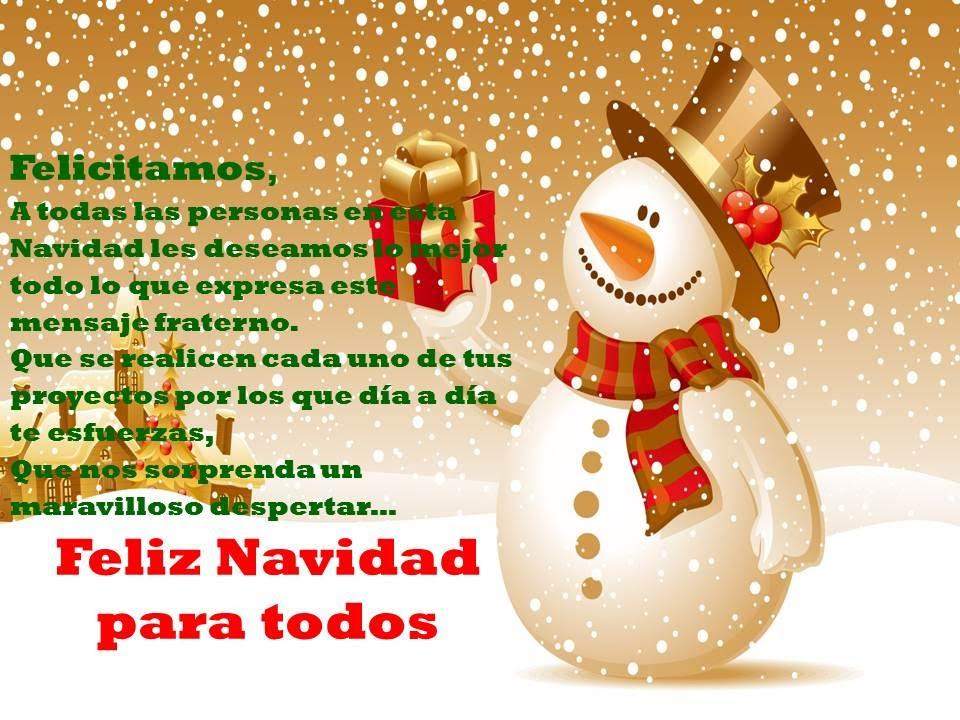 Felicitaciones De Navidad En Castellano.Saludos Y Felicitaciones De Navidad Feliz 2017