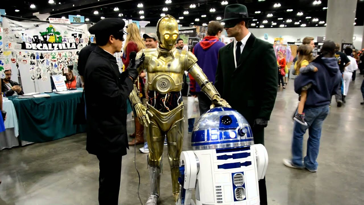 R2d2 And C3po Costumes R2D2 and C3PO Intervie...