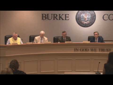 April 18, 2017 Burke County Board of Commissioners Regular Meeting
