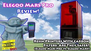 Resin 3D Printing: Do Air Filters Make Resin Printing Safe? (Elegoo Mars Pro Review)