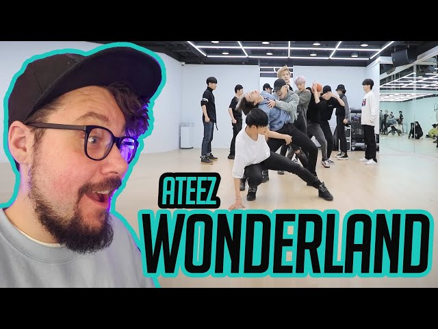 Mikey Reacts to ATEEZ - 'WONDERLAND' Dance Practice