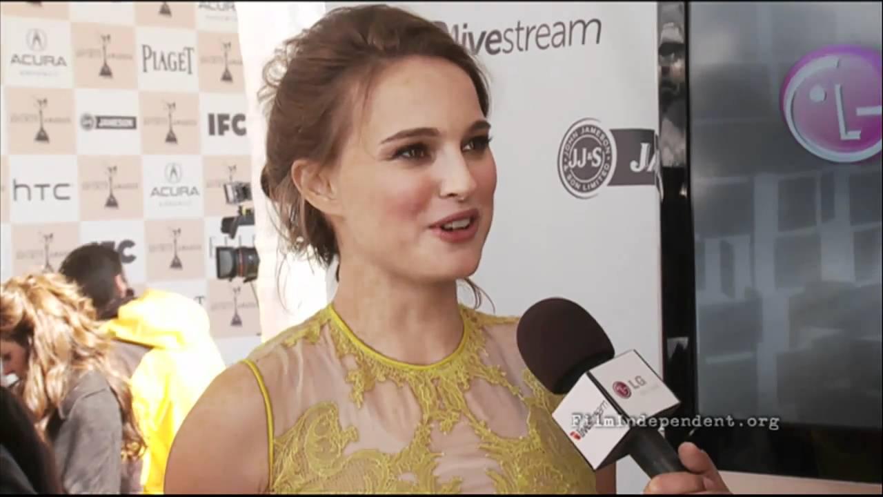 Natalie Portman interview at the 2011 Film Independent ...