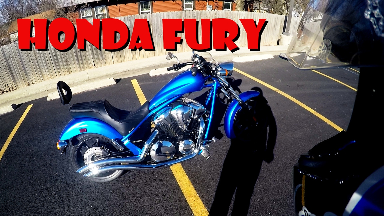 First Ride Review 2016 Honda Fury 1300cc