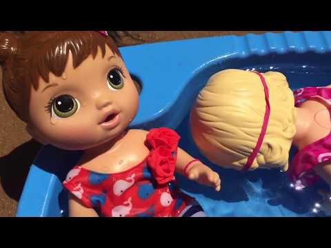 Baby Alive pool party gone WRONG