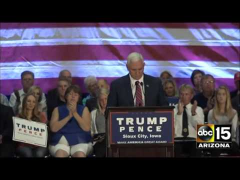 FULL SPEECH: Gov. Mike Pence in Sioux City, Iowa - Donald Trump for President