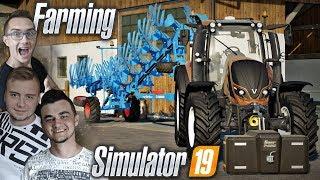 """Testy ciągnika [ Valtra T234 ] & Sianokosy 2018 ✔ FS 19 MP """"od Zera do Farmera"""" #49 ✔ MafiaSolecTeam"""