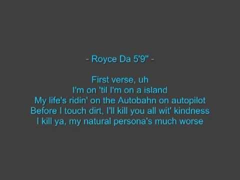 Eminem - FAST LANE feat. Royce da 5'9 LYRICS & DOWNLOAD (Bad Meets Evil 2011)
