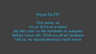 Eminem - FAST LANE feat. Royce da 5