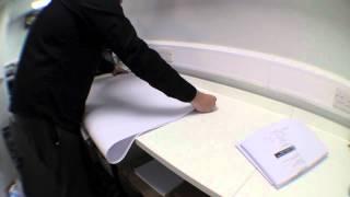 camera test a0 plan folding