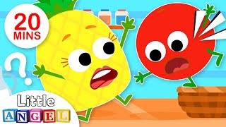 Yum Yum Fruits! (Healthy Habits) | Kids Songs by Little Angel