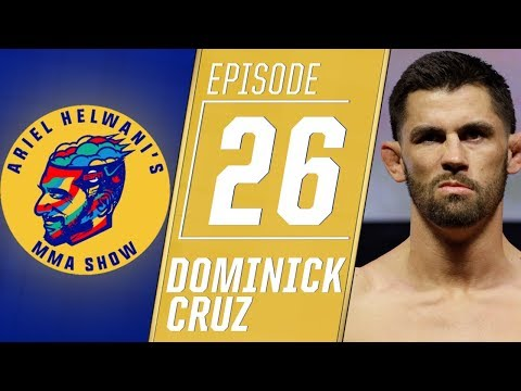 Dominick Cruz feels extreme sadness after latest injury | Ariel Helwanis MMA Show