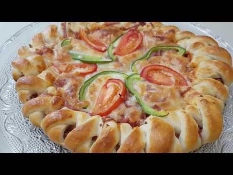 صورة  طريقة عمل البيتزا طريقة عمل بيتزا الظفيرة ( بلحمة المورتدلا ) طريقة عمل البيتزا من يوتيوب