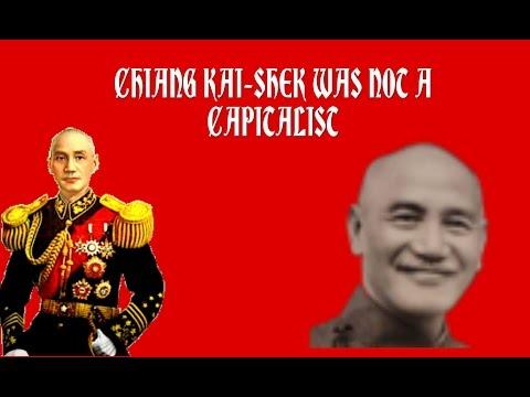 Chiang Kai-Shek Was Not A Capitalist