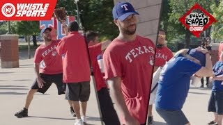 POP FLY PRANK | Texas Rangers Edition