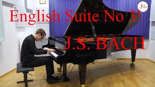 Lovre Marusic plays English Suite No 3 in G minor BWV 808 by Johann Sebastian Bach