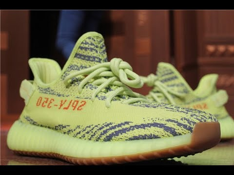 23648c3b199cf God Version Review Yeezy Boost 350 V2 Semi Frozen Yellow Raw Steel B37572