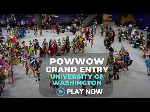 Grand Entry - University of Washington Spring Powwow 2016 - Native Daily Network