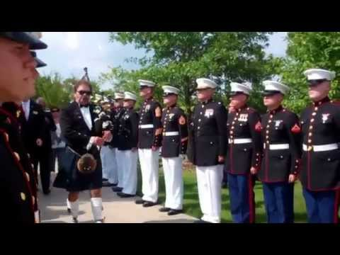 In Loving Memory - Lance Cpl Squire Skip Wells - Highland Bagpipes