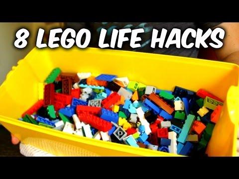 8 Lego Life Hacks
