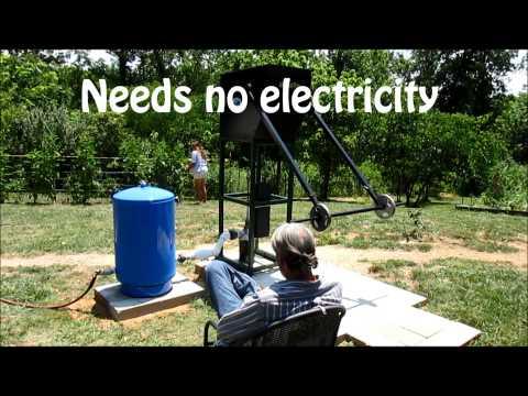 Off grid water, WaterBuck Pump and pressure tank
