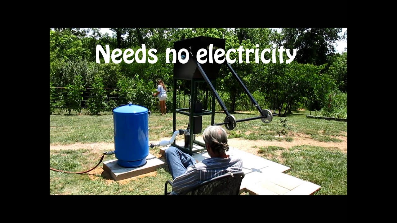 Off Grid Water Waterbuck Pump And Pressure Tank Youtube