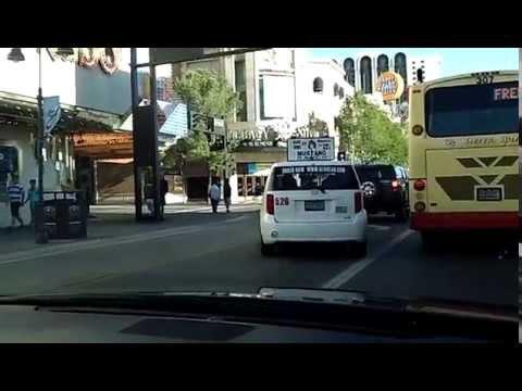 Driving in Reno,Nevada