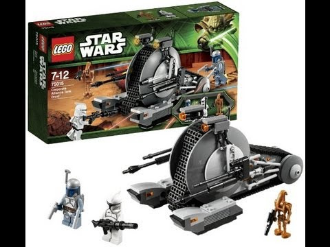 Lego star wars corporate alliance tank droid 75015 review - Lego star wars vaisseau droide ...