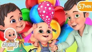 हिंदी में गुब्बारे वाला कविता | Gubbare Wala | Hindi Kahani | hindi rhymes for children - Jugnu kids