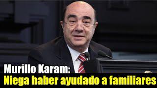 Murillo Karam niega haber ayudado a empresas familiares