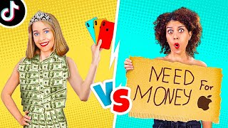 FUNNY RICH VS BROKE STUDENTS! || Normal VS Rich Awkward Moments by 123 Go! LIVE