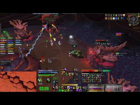 Fury vs Mythic Lady Ashvane - Affliction Warlock POV