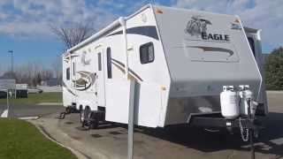SOLD 2010 New/Never Used Jayco Eagle Travel Trailer