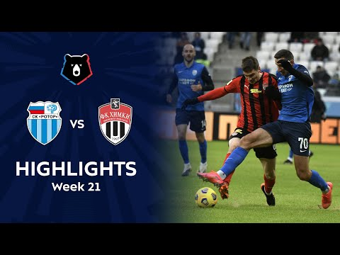 R. Volgograd Khimki Goals And Highlights