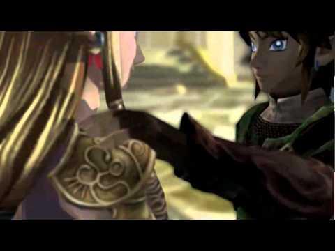 Zelda and link first kiss twilight princess
