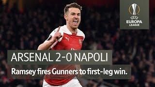 Arsenal vs Napoli (2-0) | UEFA Europa League Highlights