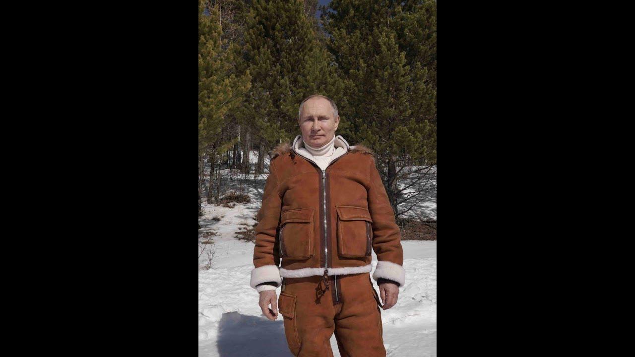 Путин в гостях у Шойгу
