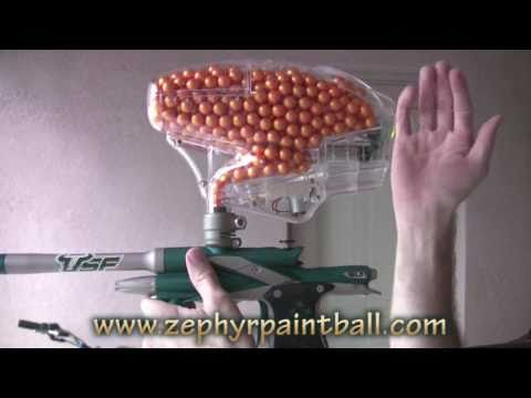 .50 Caliber Modified Pinokio Paintball Hopper (700+ rounds!)