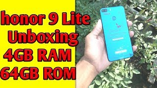 honor 9 Lite 4GB, 64GB Unboxing Review, 4 Camera, Smartphone Digit Tech