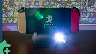 "Instant Portable 100"" Display for your Nintendo Switch - AAXA Projector"