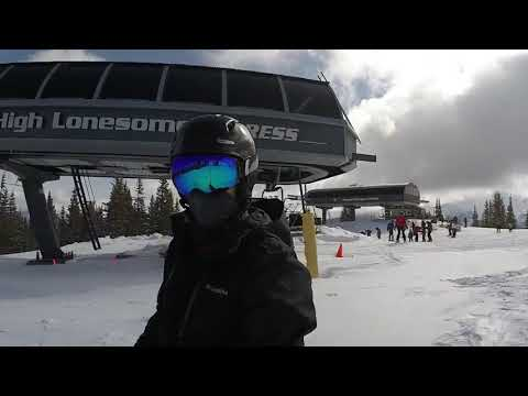 Snowboarding Winter Park 2018