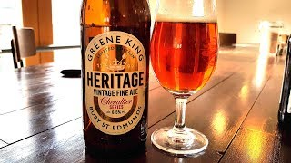 Greene King Heritage Vintage Fine Ale Chevallier Malt Series | Greene King Brewery