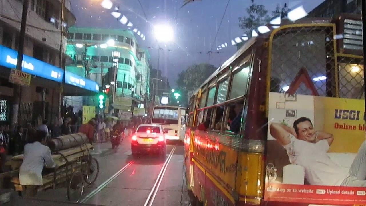 Bowbazar at Night in Kolkata (রাতের বউবাজার ) - YouTube