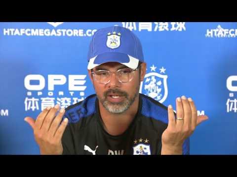 WATCH: David Wagner previews Huddersfield Town's first Premier League fixture