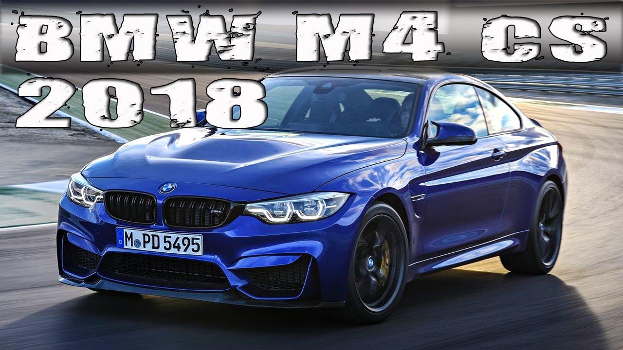 2018 Bmw M4 Cs In San Marino Blue And Lime Rock Grey Metallic Youtube