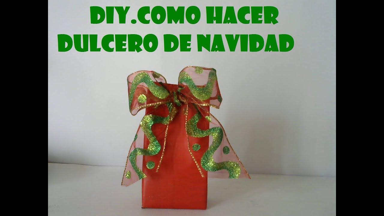Cajas De Carton Decoradas De Navidad